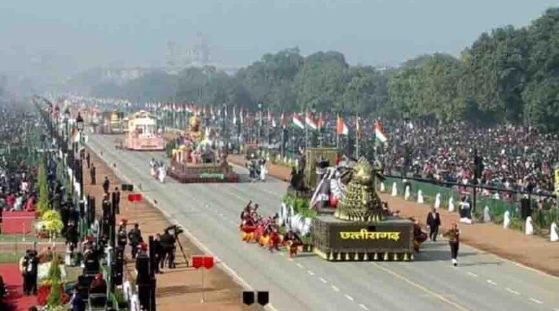 राजपथ पर बिखरी देश की विरासत और सांस्कृतिक धरोहर की छटा