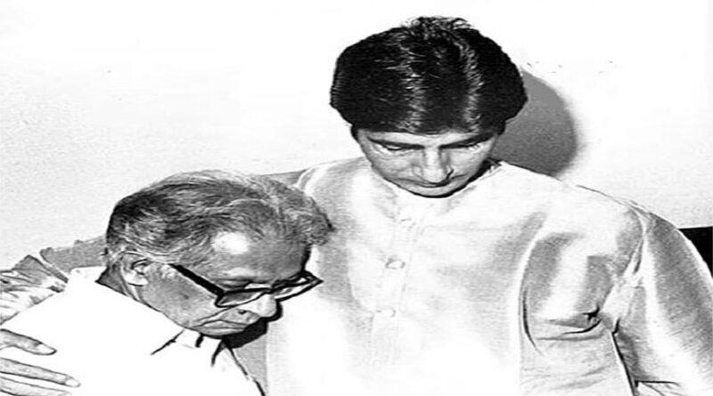 अमिताभ ने पिता हरिवंश राय बच्चन की पुण्यतिथि पर किया याद