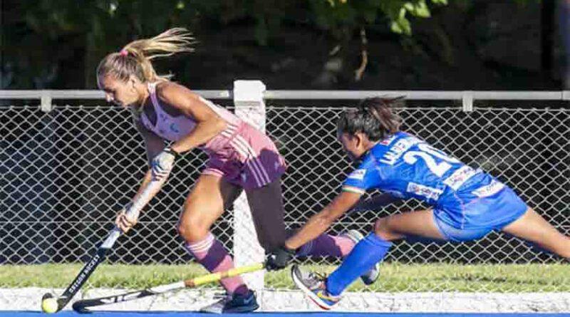 अर्जेंटीना बी से हारी भारतीय महिला हॉकी टीम