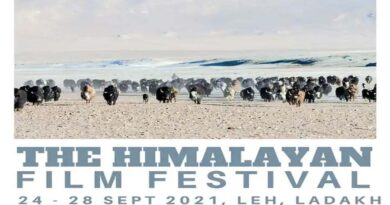 लेह-लद्दाख में 24 सितंबर से होगा पांच दिवसीय फिल्म महोत्सव